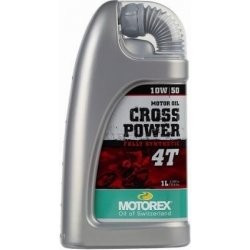 MOTOREX - CROSS POWER 4T 10W50 - 1L