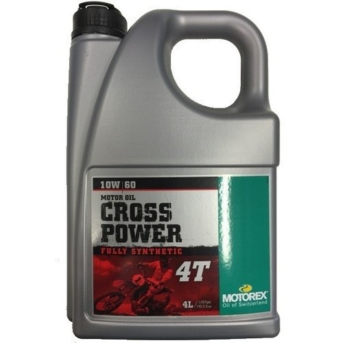 MOTOREX - CROSS POWER 4T - 10W60 - 4 l