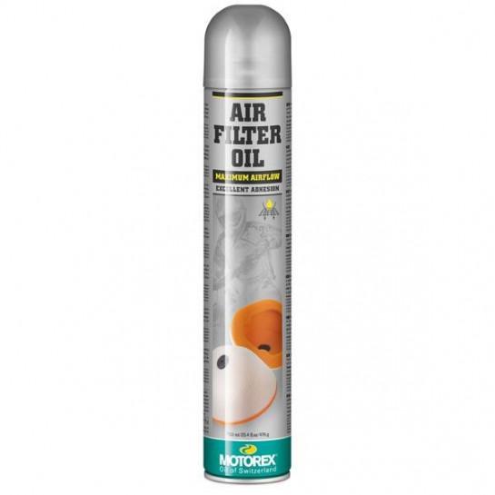 MOTOREX - Air Filter Oil Spray 655 - 750 ml