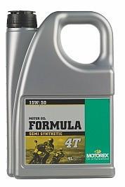 MOTOREX - Formula 4T - 15W50 - 4 l