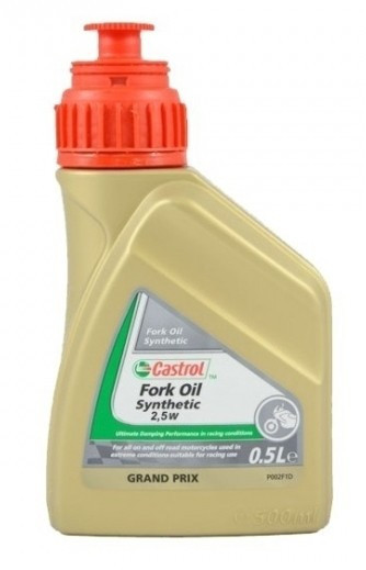 Castrol Synthetic Fork Oil SAE 2,5W - 0,5 l