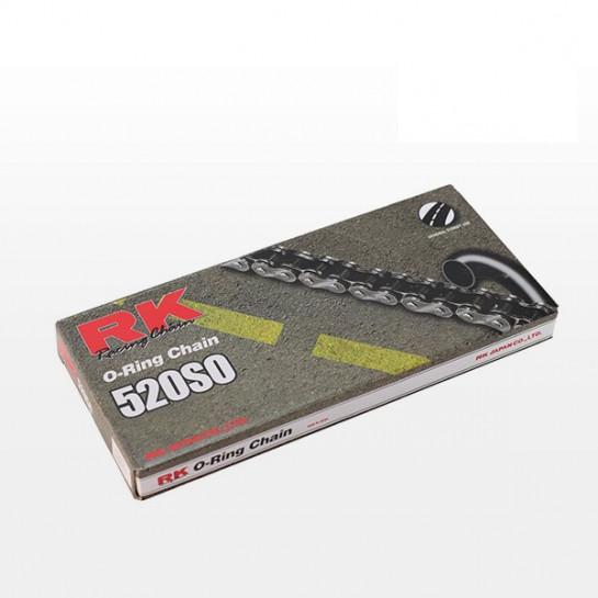 Řetěz RK 520 SO, O-ring, černý
