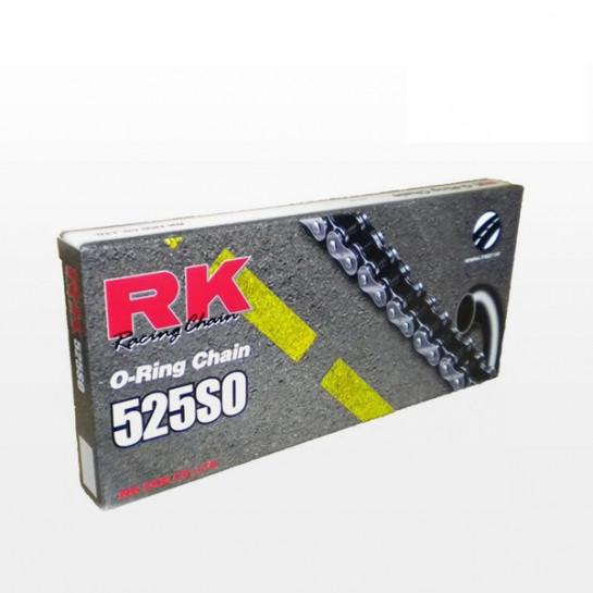 Řetěz RK 525 SO, O-ring, černý