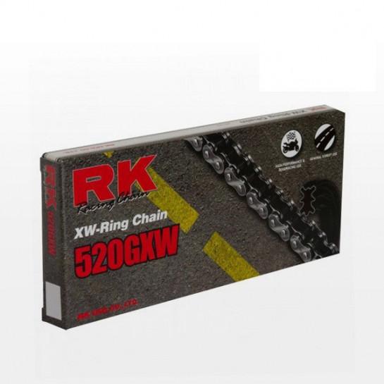 Řetěz RK 520 GXW, XW-ring, černý