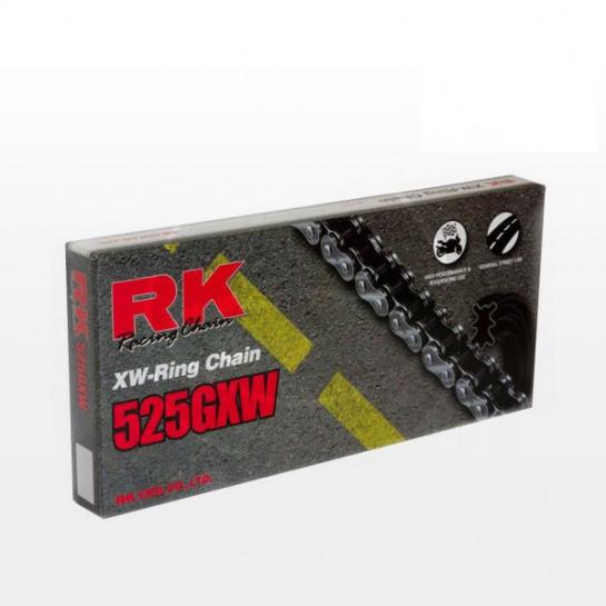 Řetěz RK 525 GXW, XW-ring, černý