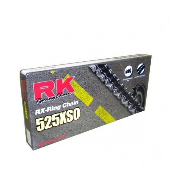 Řetěz RK 525 XSO, RX-ring, černý