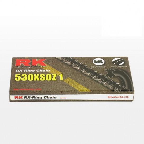 Řetěz RK 530 XSO, RX-ring, černý