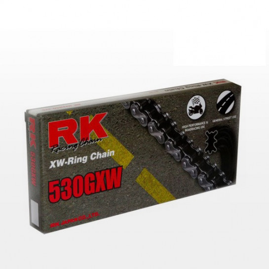 Řetěz RK 530 GXW, XW-ring, černý