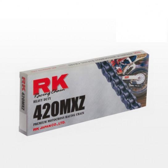 Řetěz RK 420 MXZ, bezkroužkový, zesílený, černý