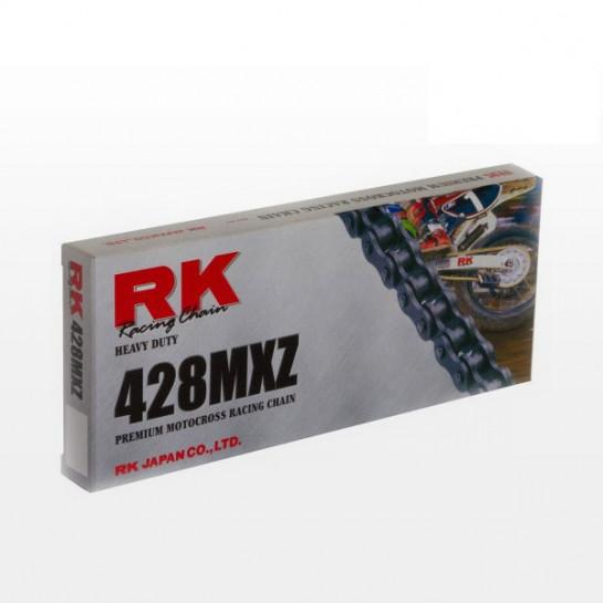 Řetěz RK 428 MXZ, bezkroužkový, zesílený, černý