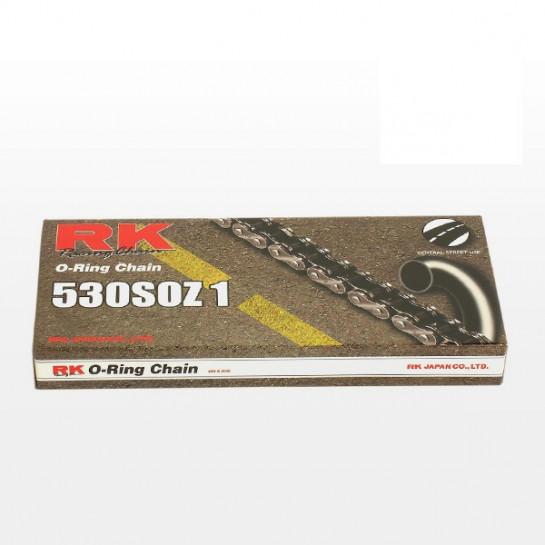 Řetěz RK 530 SO, O-ring, černý