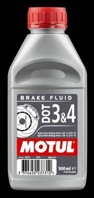 Motul DOT 3&4 Brake Fluid 0,5L