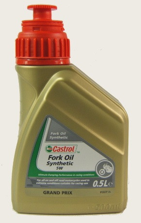 Castrol Synthetic Fork Oil SAE 5W - 0,5 l