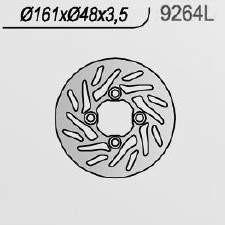 Brzdový kotouč NG přední YAMAHA YFM 660 R Raptor rok 01-05