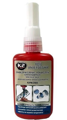 K2 ANAEROBNÍ LEPIDLO 50 ml - fixátor šroubových spojů
