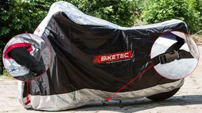 BIKETEC krycí plachta na motocykl - velikost L