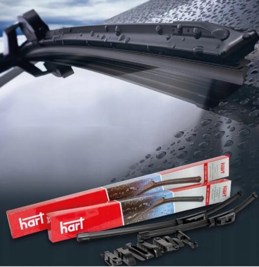 Plochý stěrač 800mm se sadou adaptérů typu Multifit