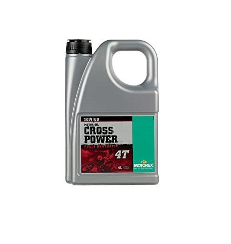 MOTOREX - CROSS POWER 4T 10W60 - 4 l