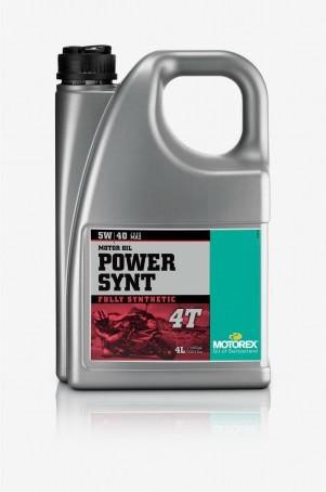MOTOREX - Power Synt 4T - 5W40 - 4 l