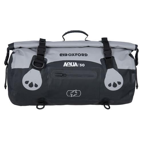 Vodotěsný vak Aqua T-50 Roll Bag, OXFORD (šedý/černý, objem ...