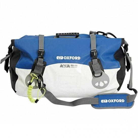 Vodotěsný vak Aqua RB-50 Roll Bag, OXFORD (bílý/modrý, objem...