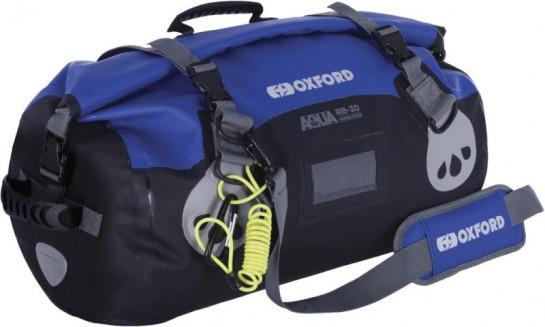 Vodotěsný vak Aqua RB-50 Roll Bag, OXFORD (černý/modrý, obje...
