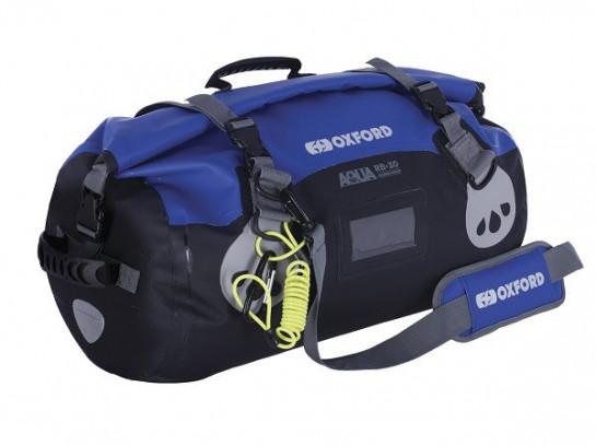 Vodotěsný vak Aqua RB-30 Roll Bag, OXFORD (černý/modrý, obje...