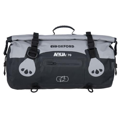 Vodotěsný vak Aqua T-70 Roll Bag, OXFORD (šedý/černý, objem ...