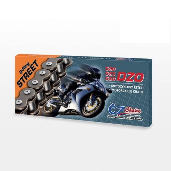 Řetěz ČZ 530 DZO, O-ring, 108 článků, nýtovací spojka