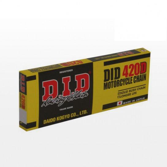 Řetěz DID 420 D, bezkroužkový, 140 článků