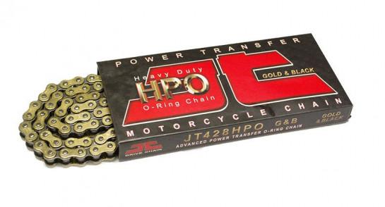 Řetěz JT 428 HPO, O-ring, zlatý, 136 článků