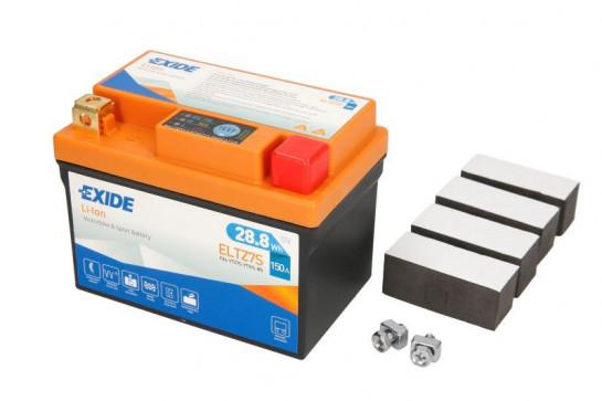 Lithiová baterie Exide HONDA VT 125 C,C2 Shadow rok 99-08