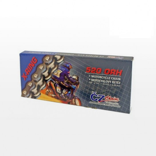 Řetězová sada s ČZ X-ring KTM 300 EXC rok 06-22