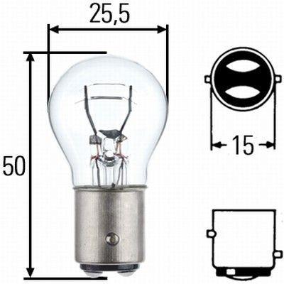 Žárovka GE do zadních světel P21/5W 21/5W BAY15d 12V